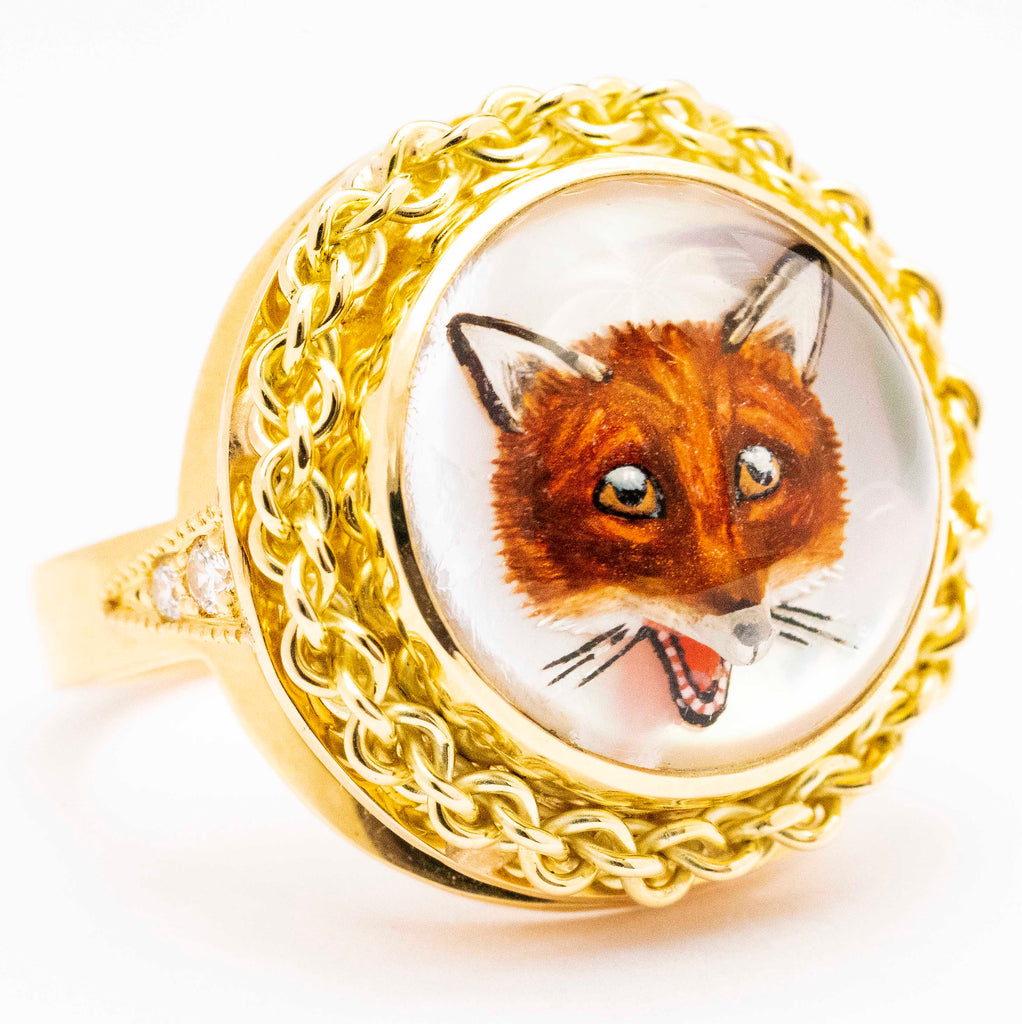 14kt Essex Fox Ring