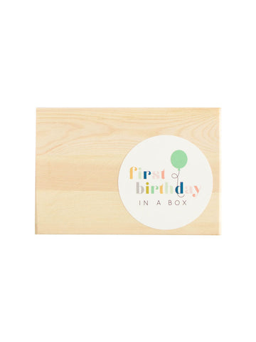 first birthday in a box - Hip Hip Party Goods