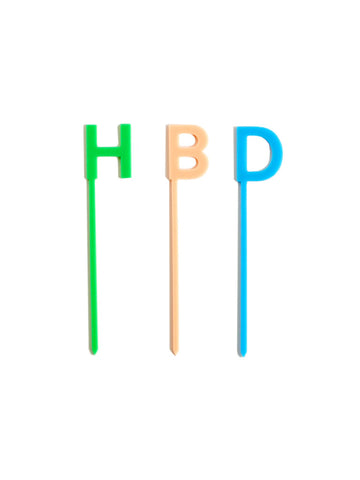 acrylic birthday cake topper