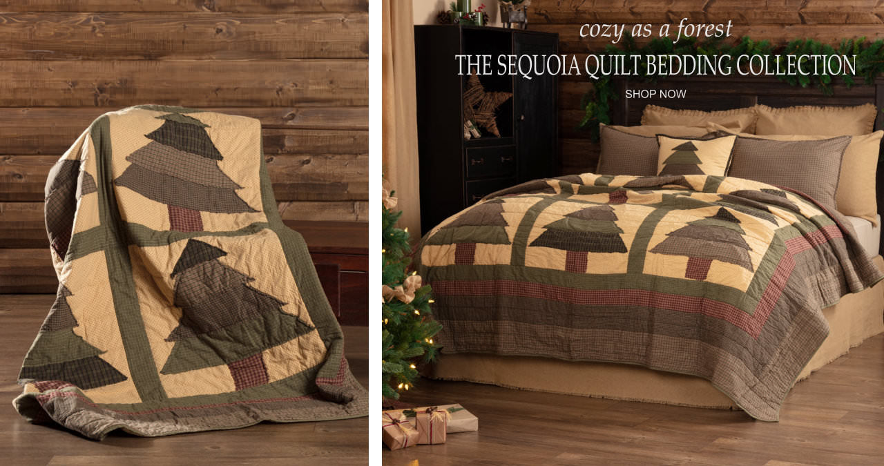 Sequoia Quilt Bedding Collection