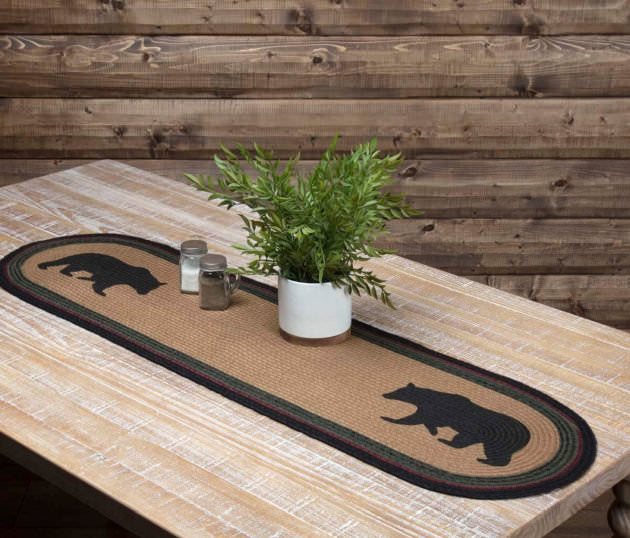 Wyatt Bear Table Runner
