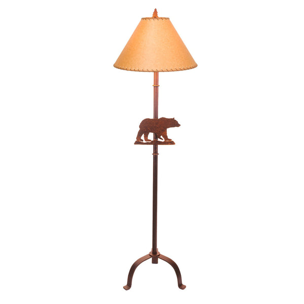 Steel Bear Floor Lamp (Available in 5 finishes)