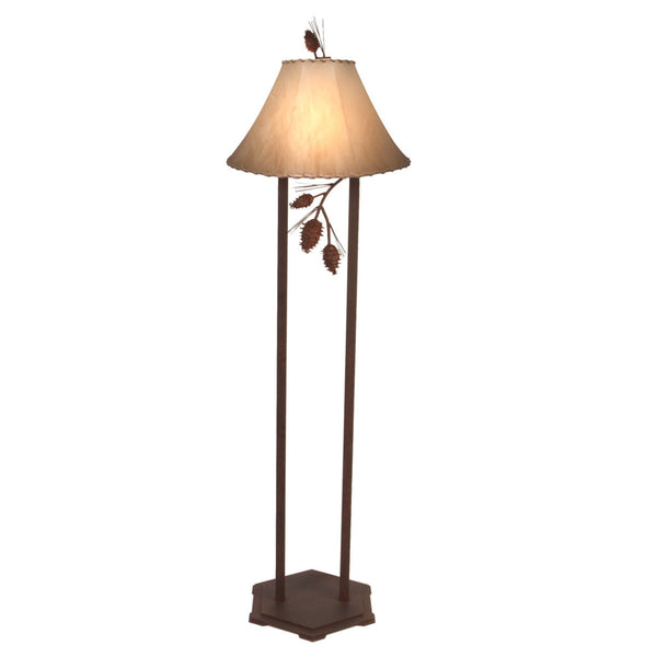 Ponderosa Pine Floor Lamp (Available in 5 finishes)