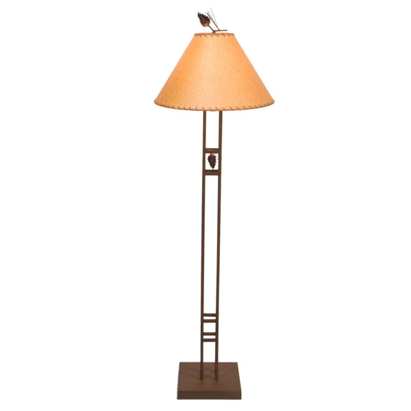 Scottsdale Pine Floor Lamp (Available in 5 finishes)