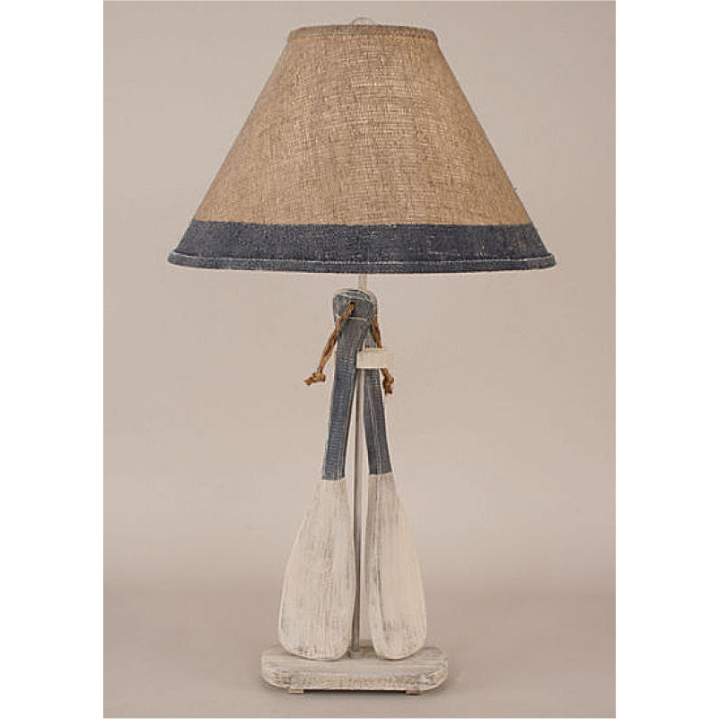 2 Paddle Rope Table Lamp