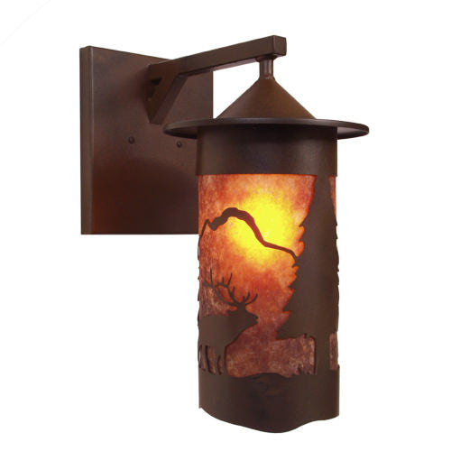 Pasadena Elk Outdoor Wall Sconce