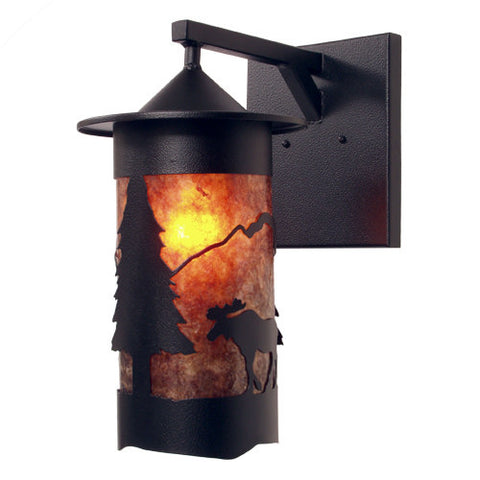 Pasadena Moose Outdoor Wall Sconce