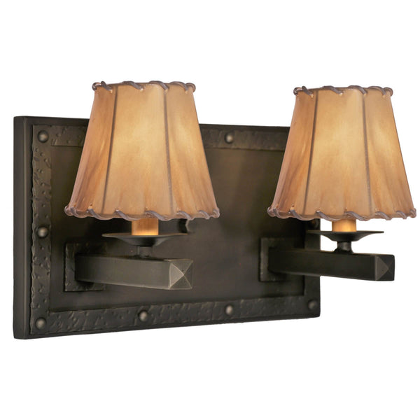 Rogue River Ranch Double Wall Sconce
