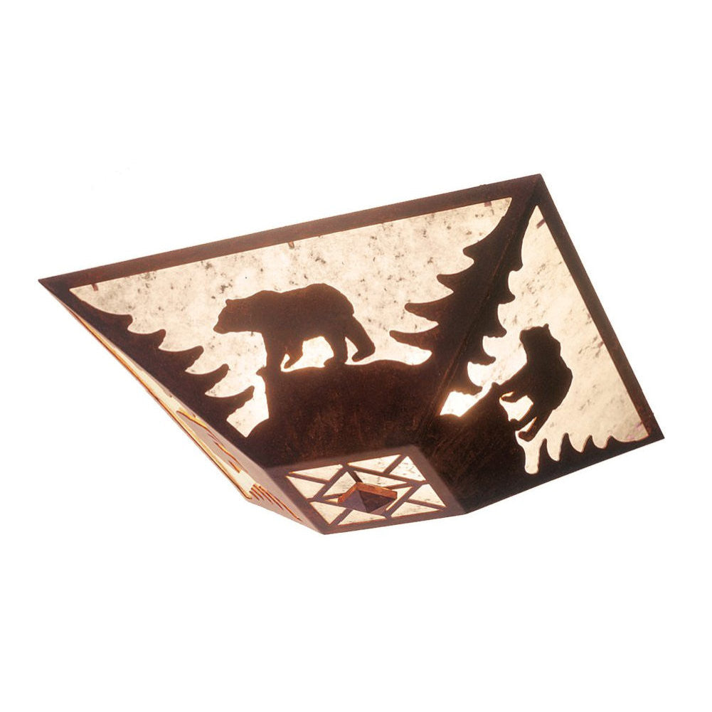 Bear Drop Ceiling Mount Light