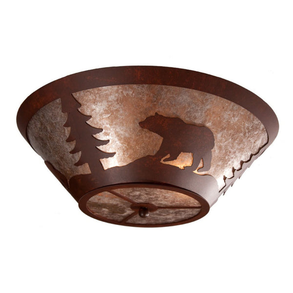 Bear Round Drop Ceiling Mount Light