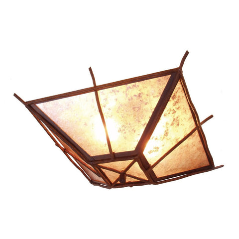 Bundle of Sticks Drop Ceiling Mount Light