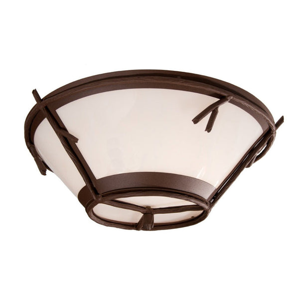 Bundle of Sticks Round Drop Ceiling Mount Light