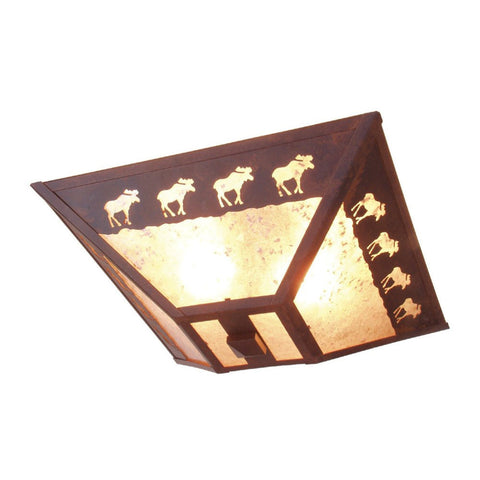 Band of Moose Drop Ceiling Mount Light