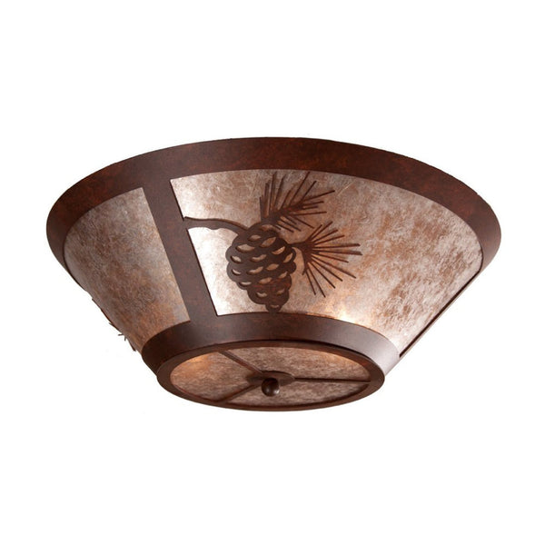 Pinecone Round Drop Ceiling Mount Light