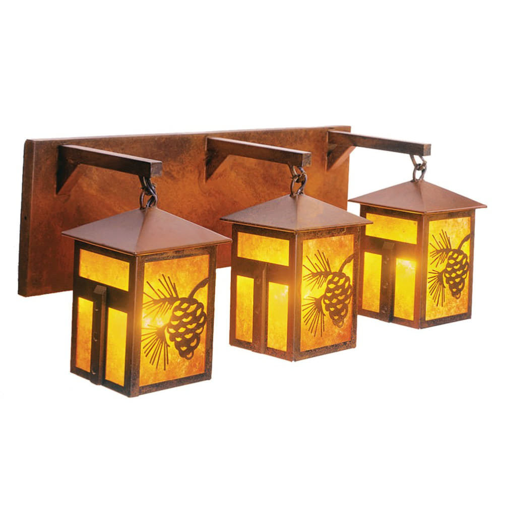 Mission Lake Triple Vanity Light
