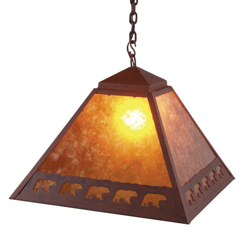 Band of Bears Swag Light (Available in 5 finishes and lens)