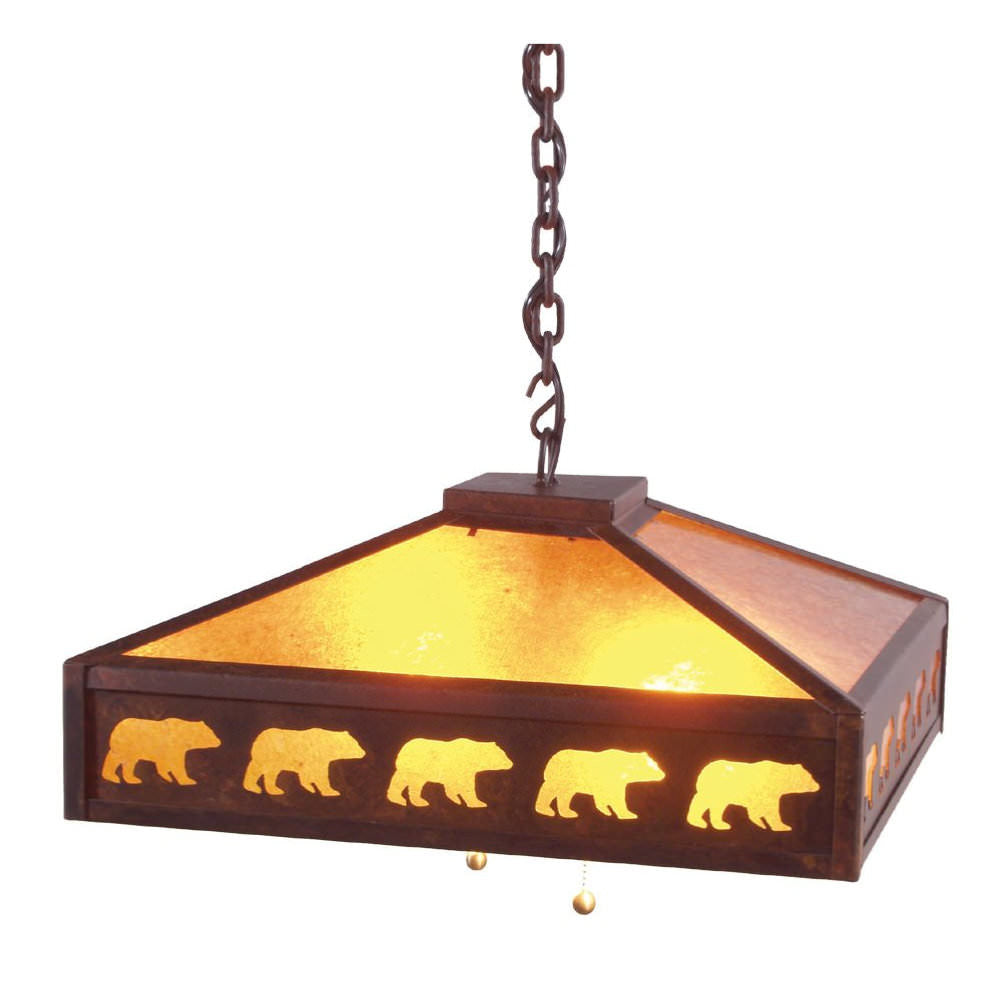 Meadow Band of Bears Swag Light