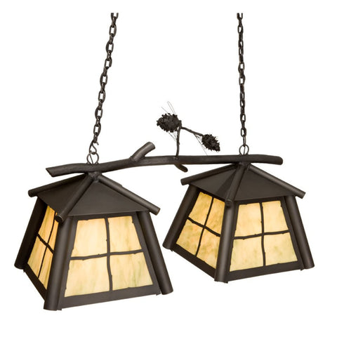 Anacosti Saranac 2 Light Pendant
