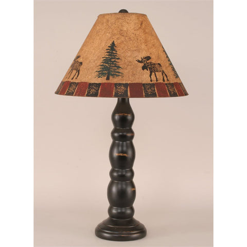 3 Ring Candlestick Moose Table Lamp