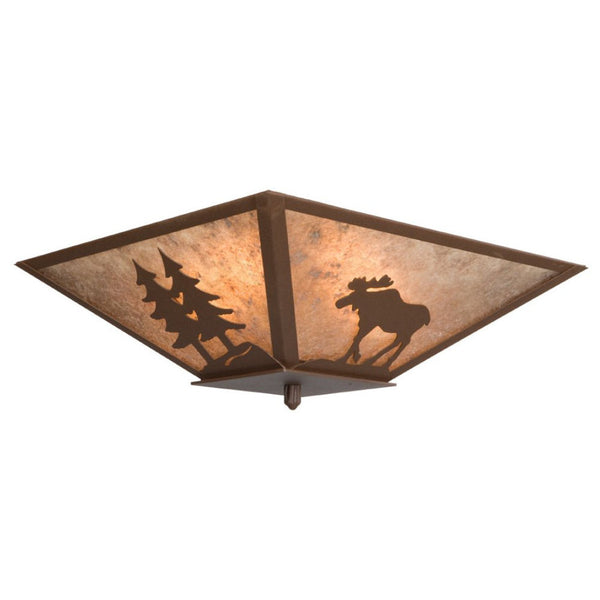 Moose Semi Flush Ceiling Mount Light