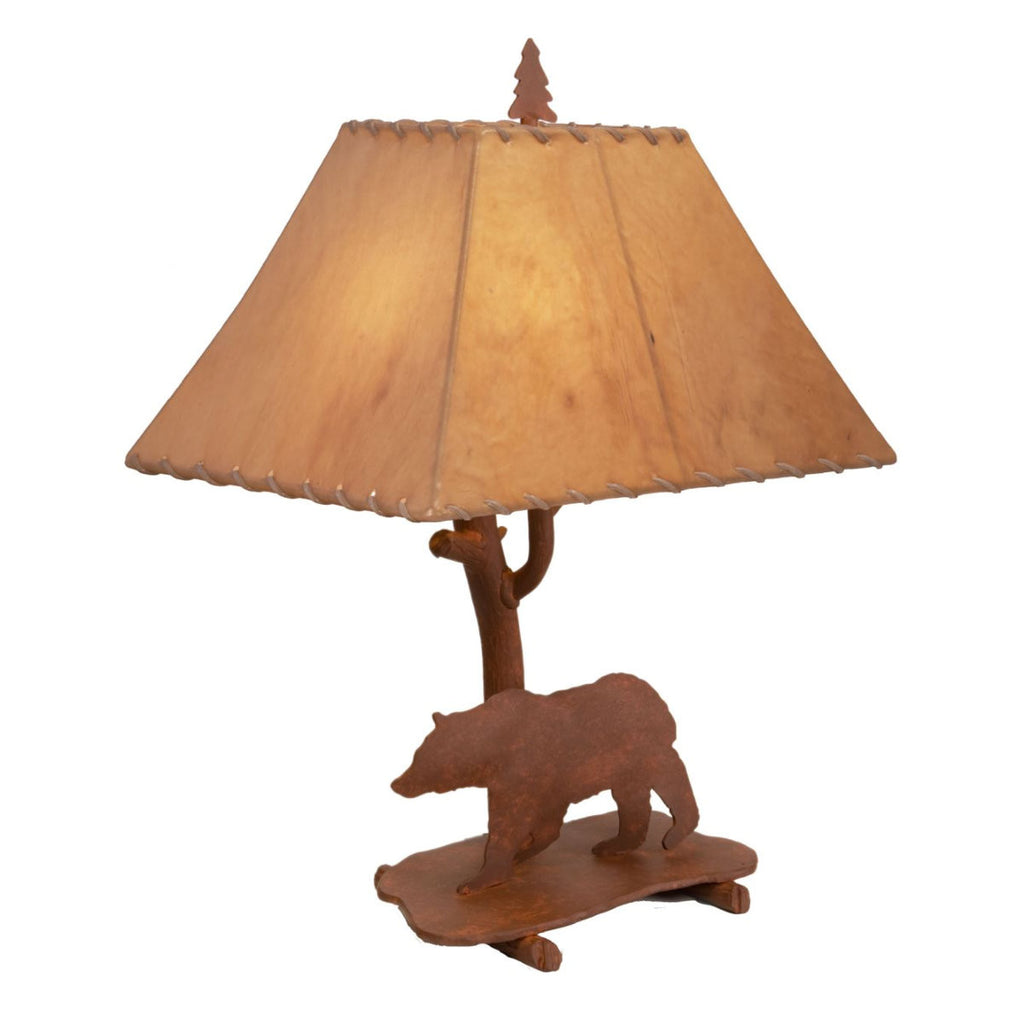 Shasta Bear Table Lamp
