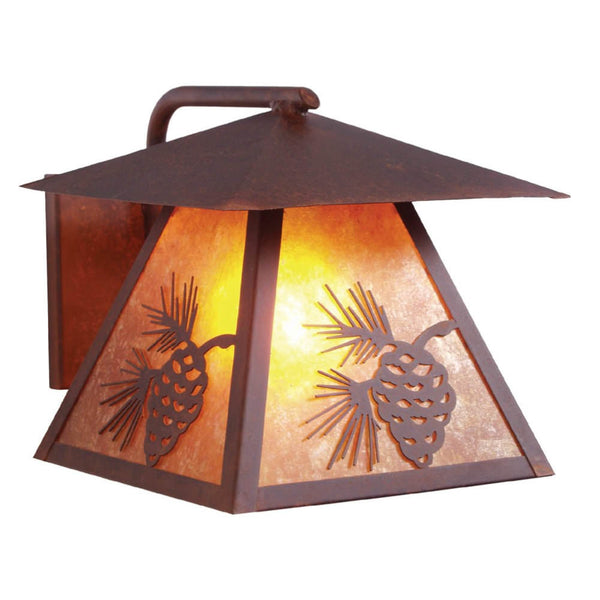 Pinecone Outdoor Wall Sconce
