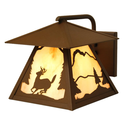Timber Ridge Deer Outdoor Wall Sconce
