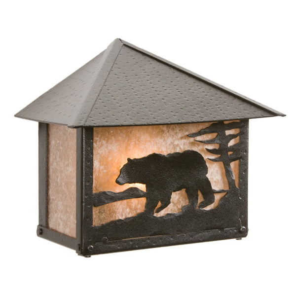 Rainer Bear Outdoor Wall Sconce