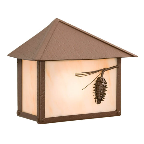 Rainer Ponderosa Pine Outdoor Wall Sconce
