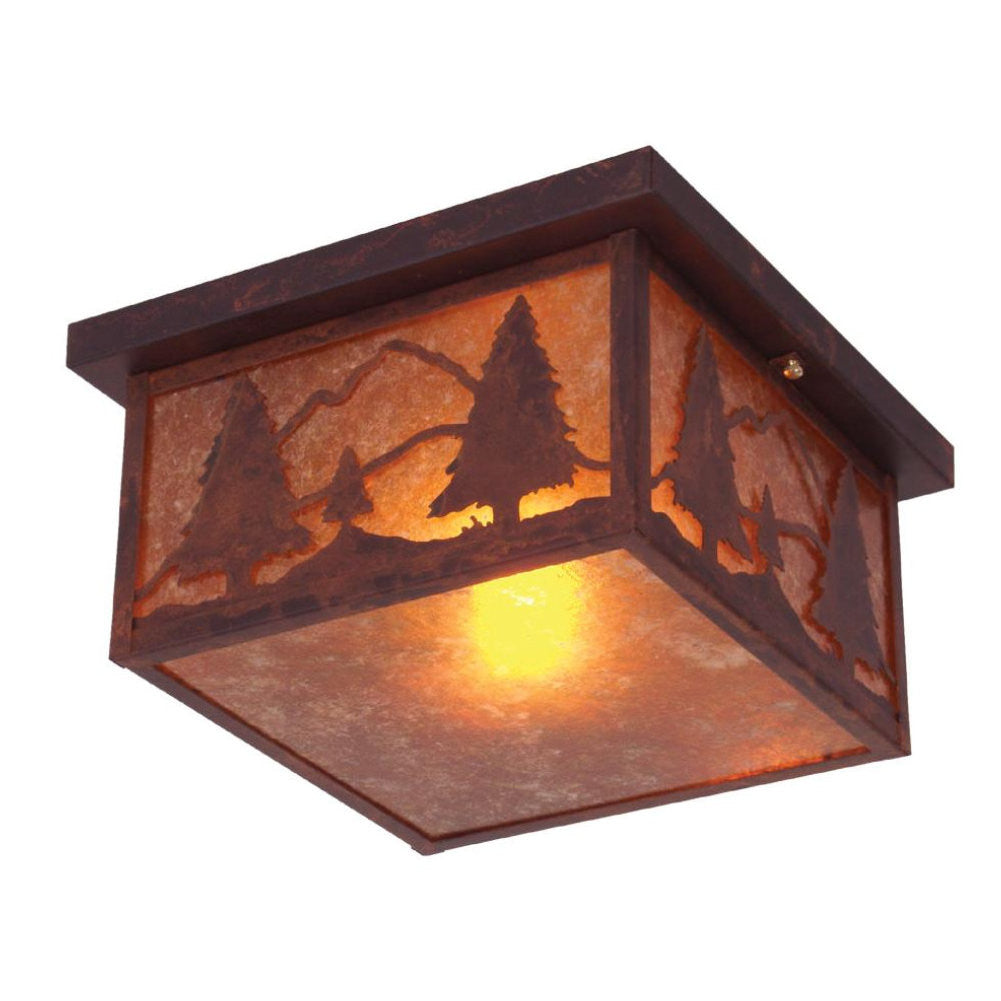 Timber Ridge Ceiling Mount Light