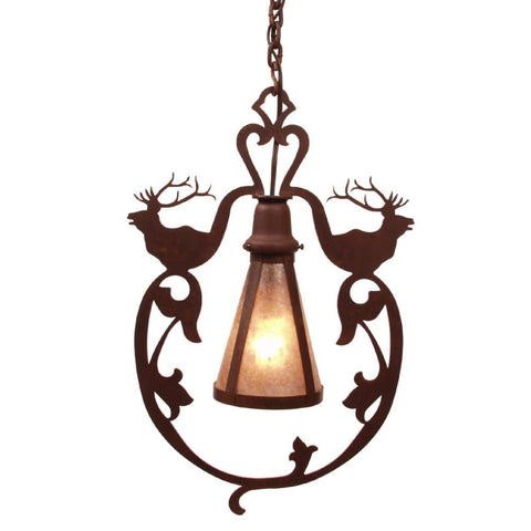 Bavarian Elk Pendant Light
