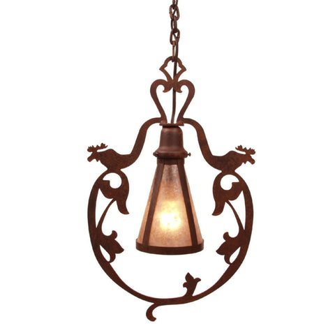 Bavarian Moose Pendant Light