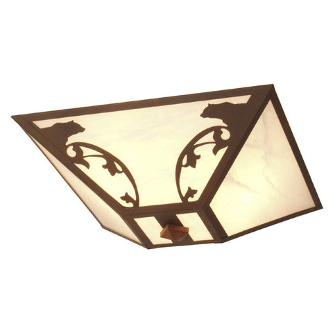 Bavarian Bear Drop Ceiling Mount Light