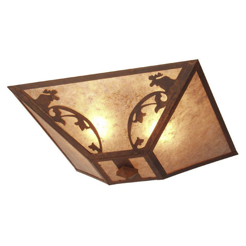 Bavarian Moose Drop Ceiling Mount Light