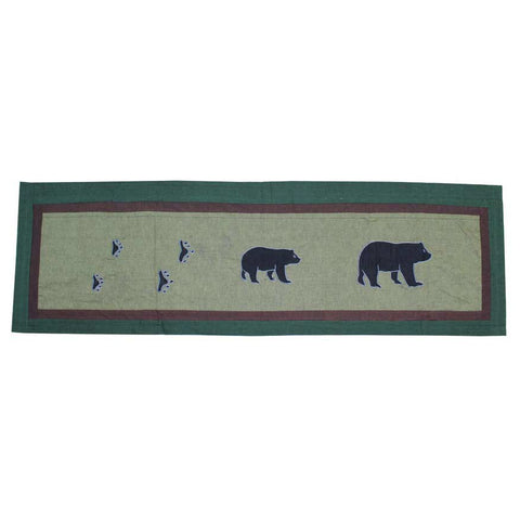 Bear Trail Curtain Valance