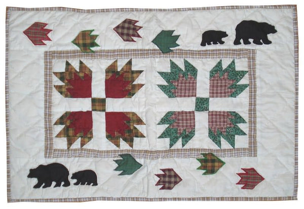 Bears Paw Quilt King Pillow Sham