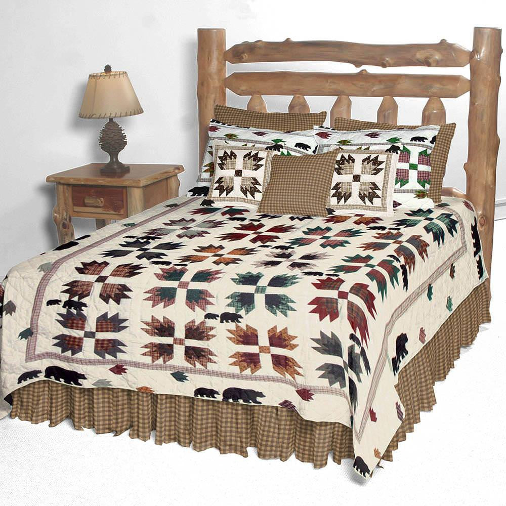 Bears Paw Quilt Bedding Collection