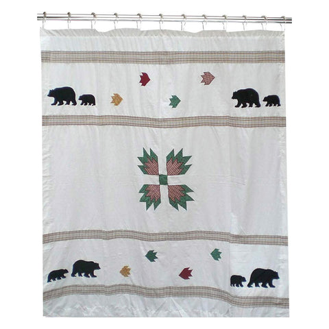 Bears Paw Cool Shower Curtain