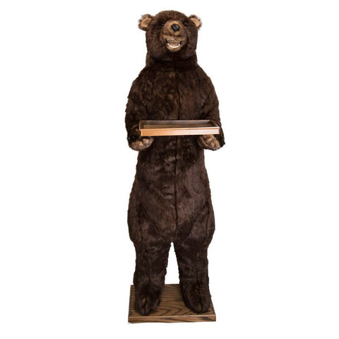 Standing Butler Grizzly Bear with Smile 58""