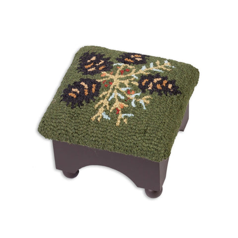 Diamond Pine Cricket Footstool