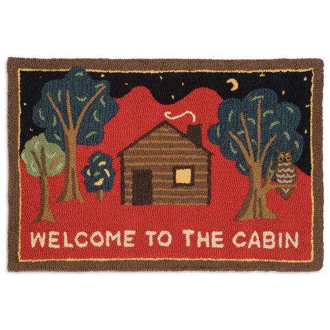 Welcome to the Cabin Rug 2' x 3'