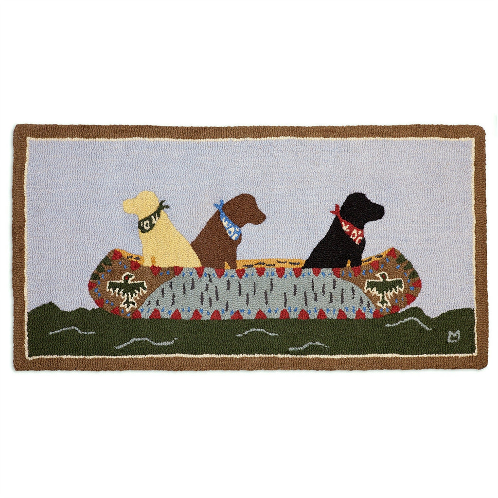 White Water Labs Rug 2' x 4'