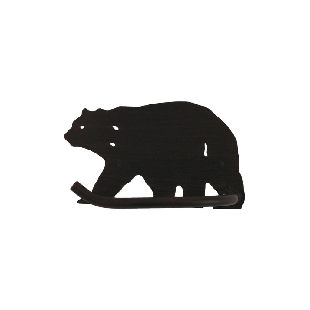 Iron Bear Toilet Paper Holder