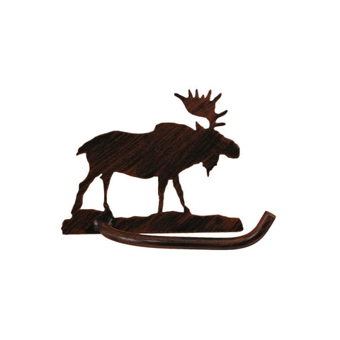 Iron Moose Toilet Paper Holder