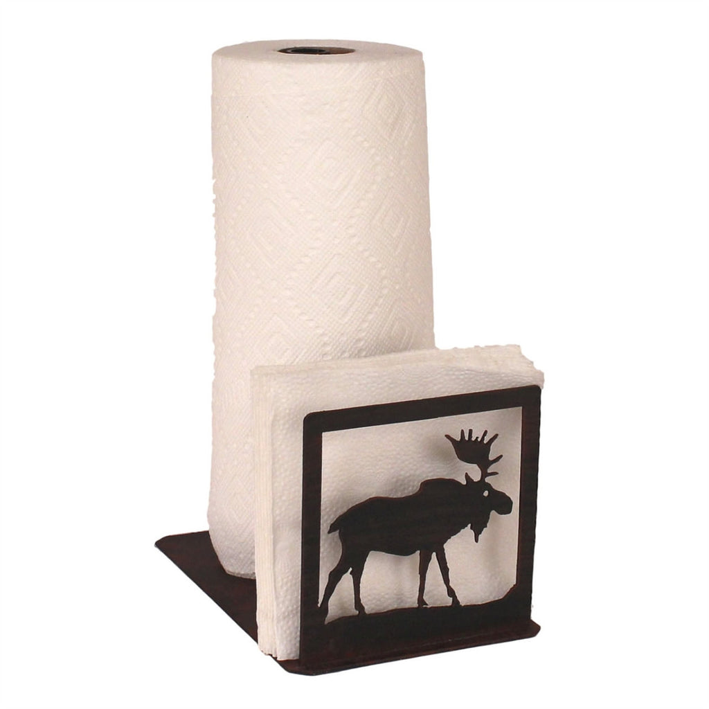 Iron Moose Paper Towel/Napkin Holder