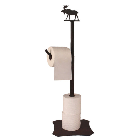Iron Moose Toilet Paper Stand