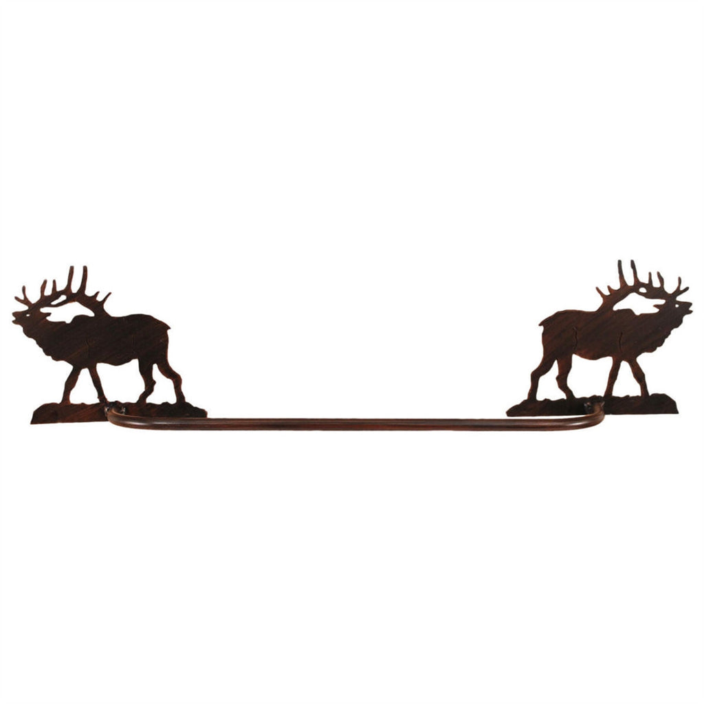 Iron Elk Towel Bar