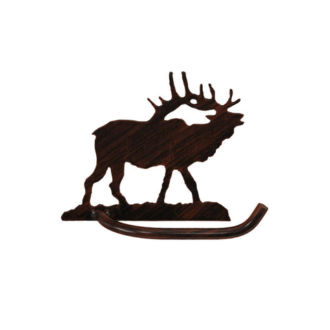 Iron Elk Toilet Paper Holder