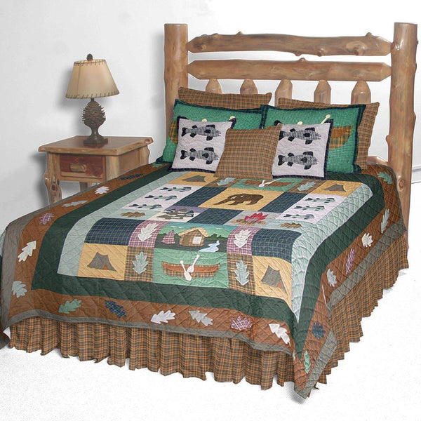 Cabin Quilt Bedding Collection