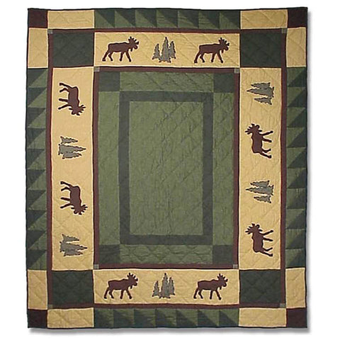 Cedar Trail Quilted Throw